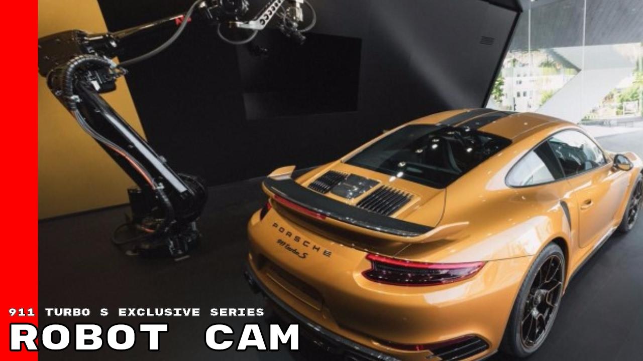 porsche 911 turbo s exclusive series live stream robot cam youtube. Black Bedroom Furniture Sets. Home Design Ideas