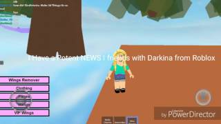 I friends with Darkina From Roblox i Sailor_V Username)