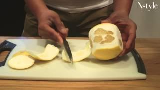 意外と食べにくい「グレープフルーツ」のオシャレな食べ方とは