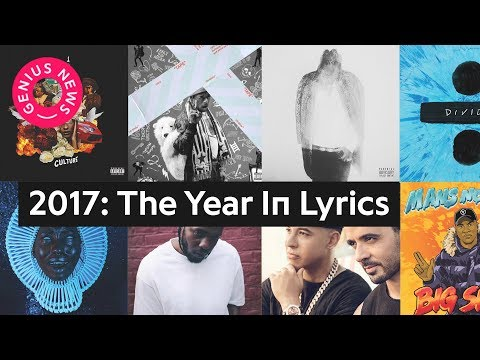 2017: The Year In Lyrics | Genius News