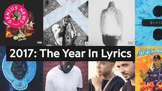 2017: The Year In Lyrics | Genius News