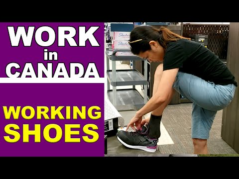Work In Canada - Lynneth Working Shoes At Mark's Store