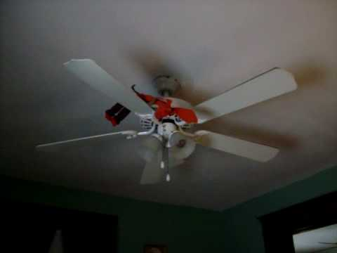 Perfect Get Jar Jar From Star Wars Stuck Up On A Ceiling Fan Game