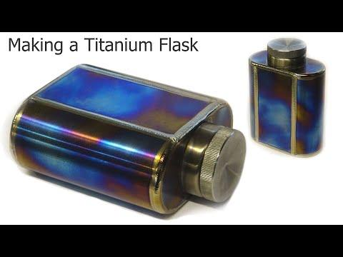TIG Welding Titanium Fabrication - Oil Flask