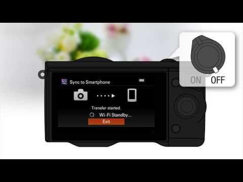Sync to Smartphone | PlayMemories Camera Apps
