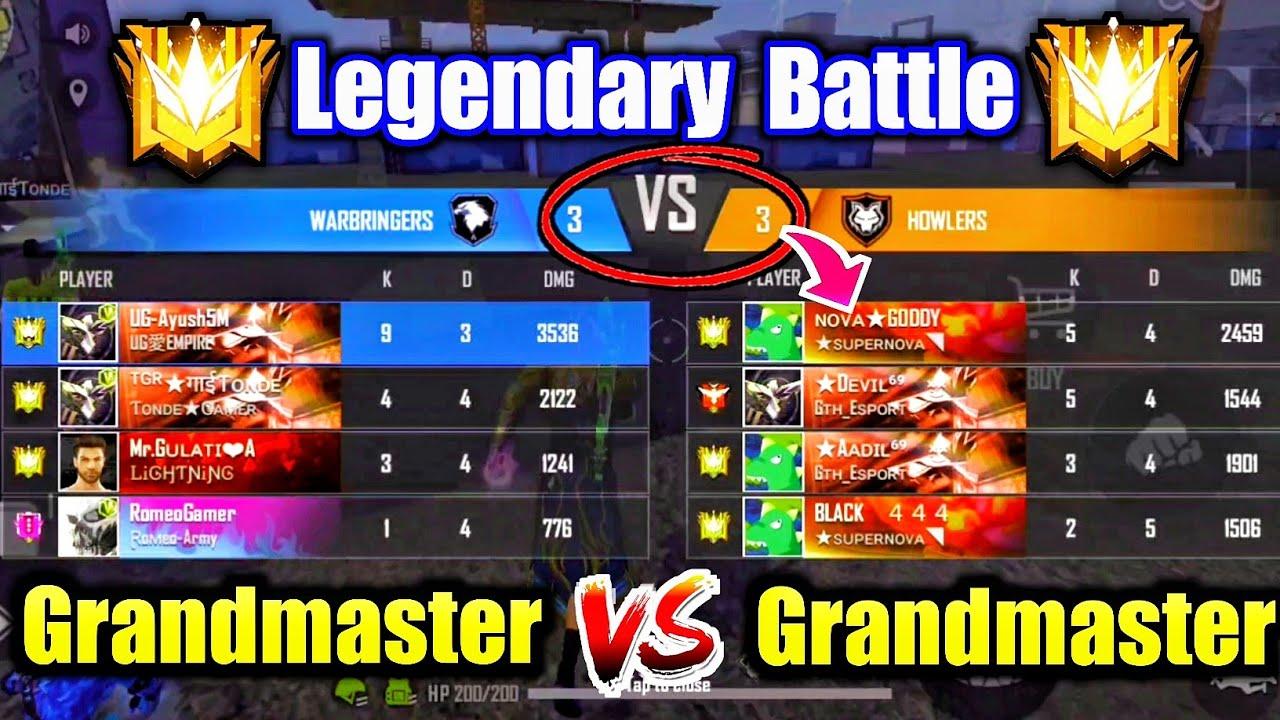 Grandmaster VS Pro Grandmasters🤯🔥Legendary Opponents After long Time 3-3 😎!!