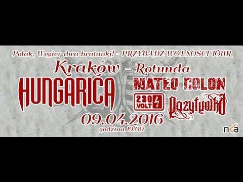 Pozytywka - Wilcze mogiły feat. Edyta Szkołut live Kraków 09.04.2016