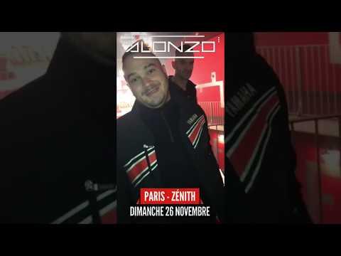 Alonzo au Zénith de Paris avec Jul et Naza !