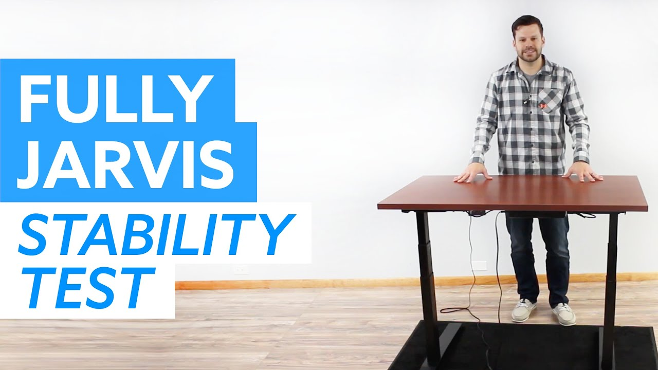 Jarvis Desk Stability Test - Adjustable Height Desk Wobble and Rocking Test