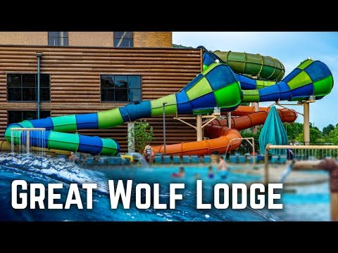 ALL WATER SLIDES At Great Wolf Lodge Mason, Ohio!