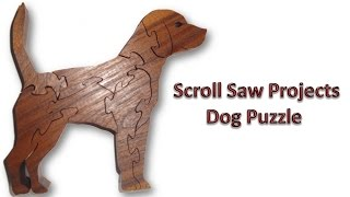 Scroll Saw Projects - Dog Puzzle