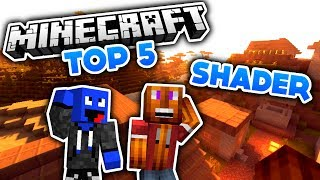 Minecraft - Top 5 Shader! (Deutsch/German)