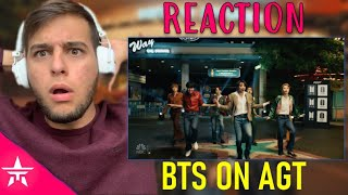BTS Performs Dynamite on AGT - America's Got Talent 2020 | REACTION