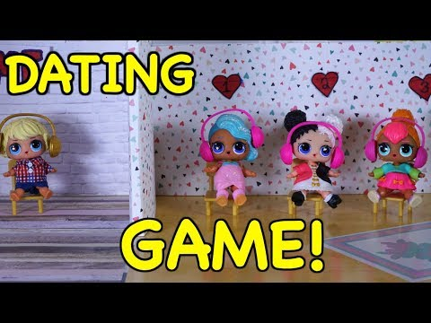 LOL SURPRISE DOLLS Win A Date With Levi, The Dating Game!
