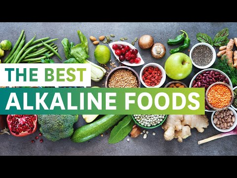 The Best Alkaline Foods and their Health Benefits