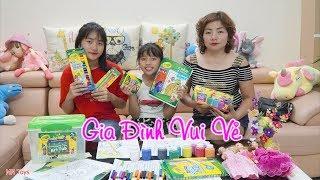 Bộ Màu Crayola Siêu Đẹp Của Hai Chị Em - Gia Đình Vui Vẻ - MN Toys
