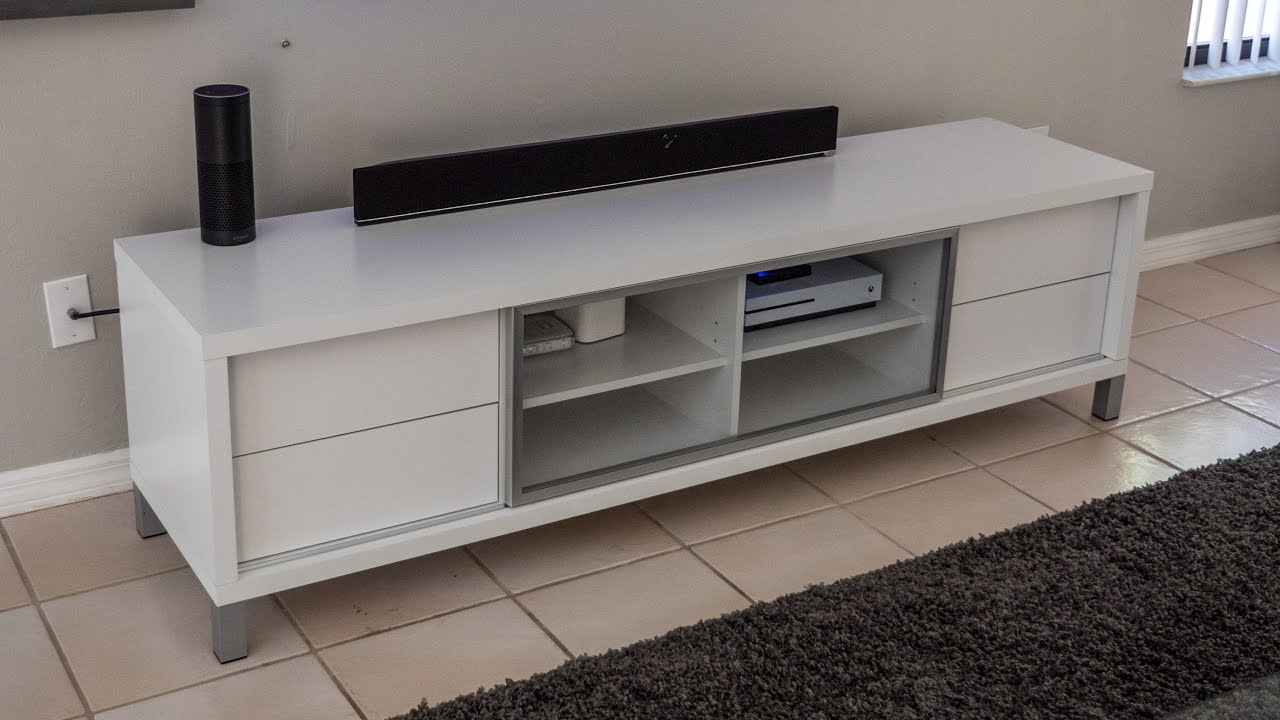 [REVIEW] Monarch Specialties White Hollow Core Euro TV Console, 70 Inch