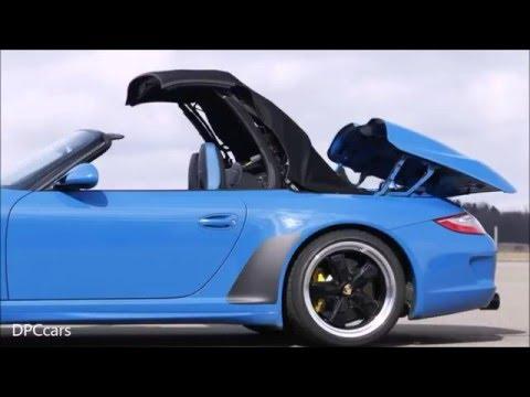 2011 Porsche 997 Speedster Driving Footage Youtube