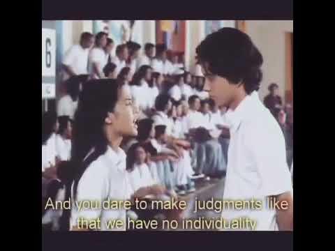 Dialog Ada Apa Dengan Cinta ? 2002 Salah Gue ? Salah Temen Temen Gue ?