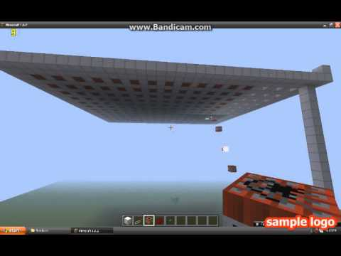 Carpet Bomb in Minecraft - YouTube