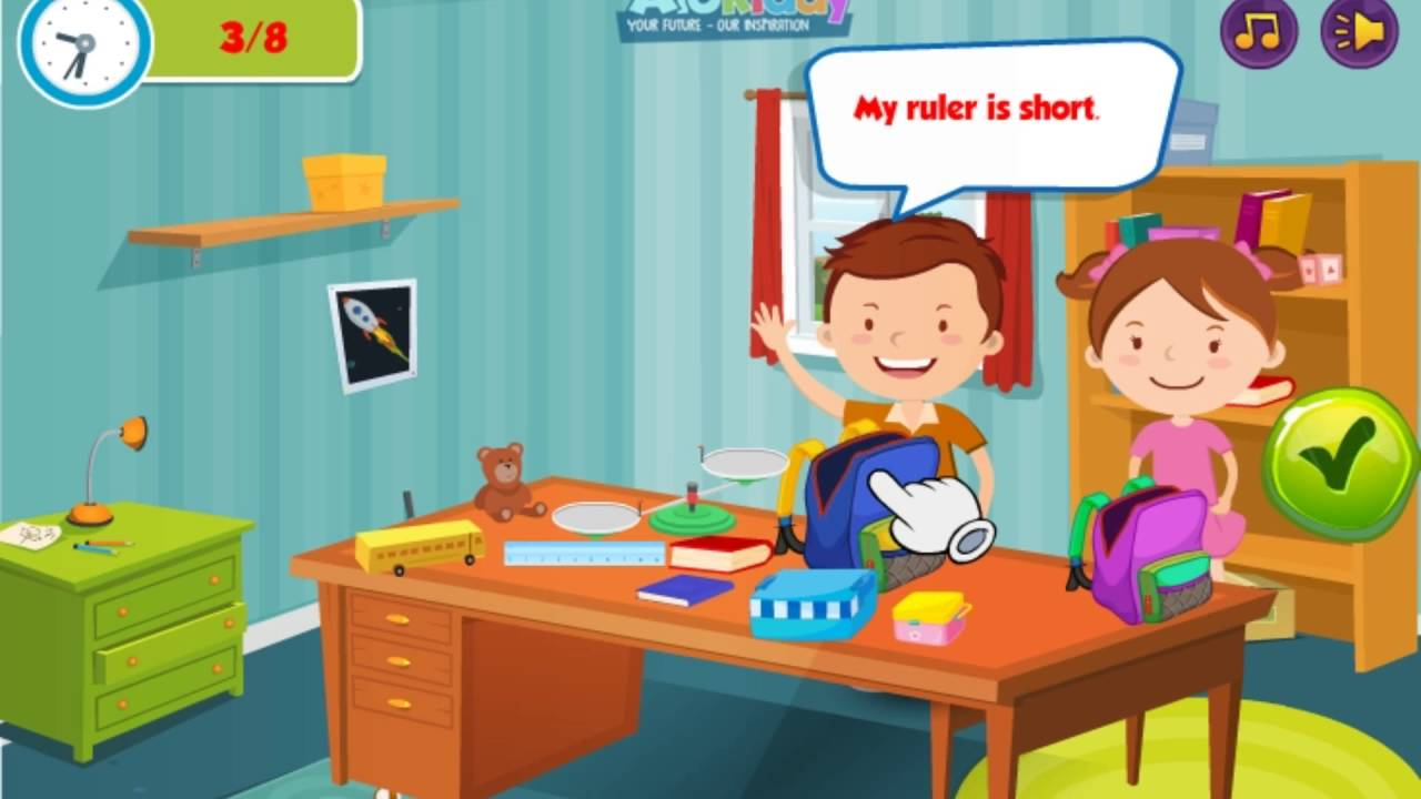 how to make learn english to kid