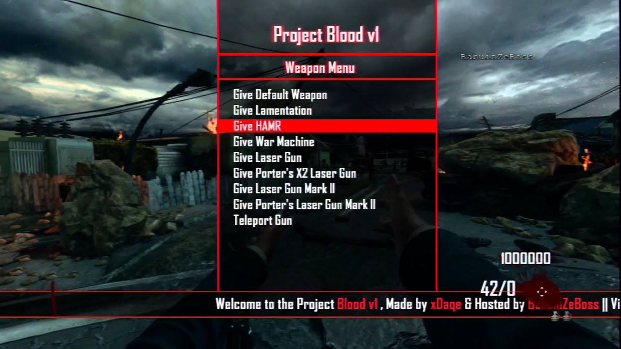 Download bo3 usb mod menu for PS4 and Xbox Guide here