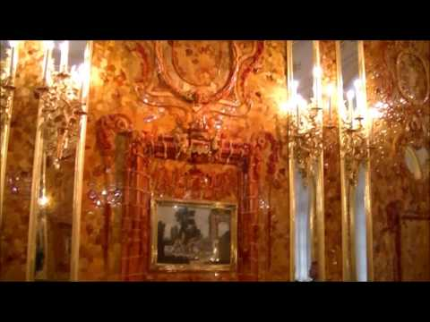 """The Amber Room - """"Eighth Wonder of the World"""", Catherine Palace, Tsar's Village, summer 2017"""