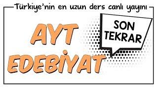 YKS - AYT Edebiyat Son Tekrar  Kamp2018