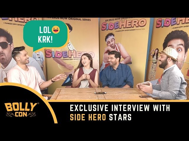 Exclusive Interview with Side Hero star cast | Kunaal Roy Kapur | Gauahar Khan | Arjun Kanungo