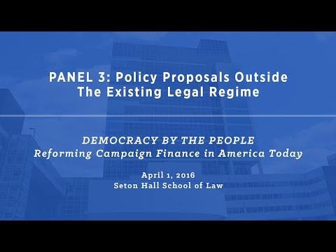 Symposium at Seton Hall School of Law (Part 4/5)