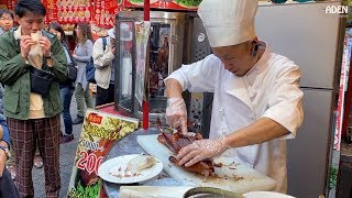 Japanese Street Food - Peking Duck in Kobe Chinatown