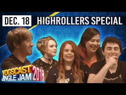 THE HIGHROLLERS NON-CANON CHRISTMAS SPECIAL! [1] -  YOGSCAST JINGLE JAM - 18th December 2016