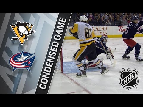 Pittsburgh Penguins vs Columbus Blue Jackets – Feb. 18, 2018 | Game Highlights | NHL 2017/18. Обзор