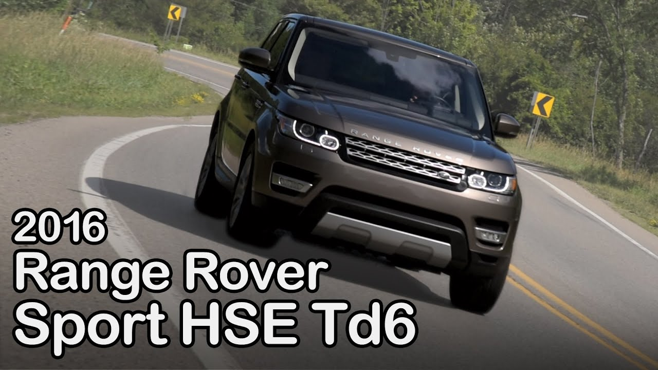 2016 Range Rover Sport Hse Td6 Review Curbed With Craig Cole