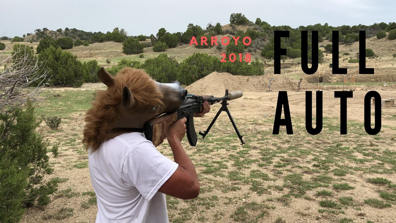 Full Auto Fun at the Ranch