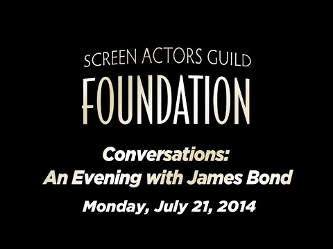 Conversations: An Evening with James Bond
