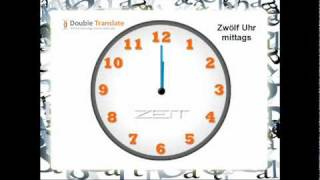 French for Beginners - How to Tell Time in French Telling Time Practice #2 (1:15, 2:15, 3:15 etc.): Learn to tell the time with this fun