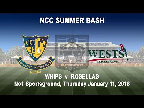2018 NCC Summer Bash - Whips v Rosellas
