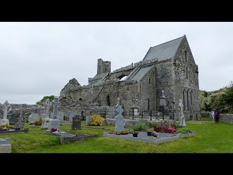 Corcomroe Abbey - The Burren - County Clare - Ireland