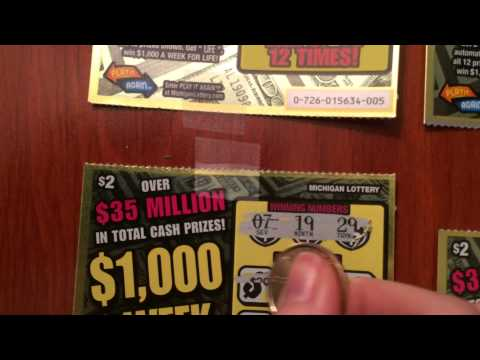 $1000 a Week for Life Instant Tickets 4915