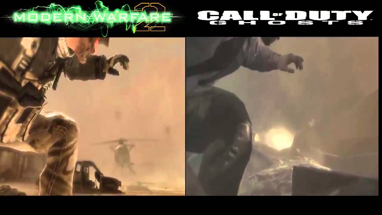 CALL OF DUTY GHOST COPY & PASTE MODERN WARFARE 2 ENDING