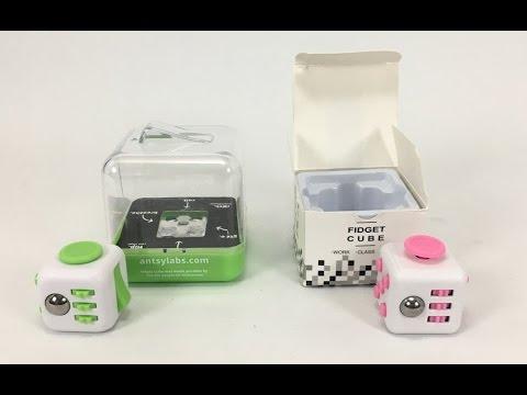 Fidget Cube Fake Vs Real