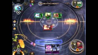 HEX TCG (ALPHA): Orcs Demo Deck vs. Croesus (PVP)