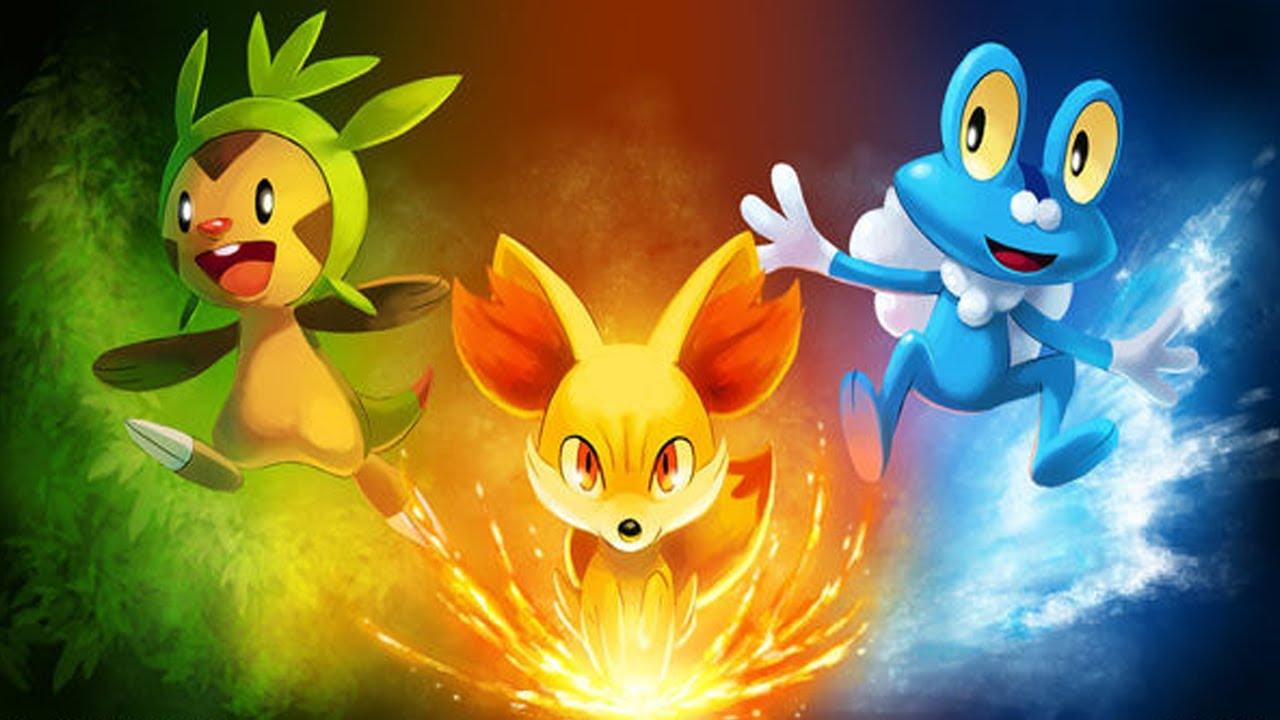 Community choice chespin fennekin or froakie youtube - Evolution pokemon xy ...