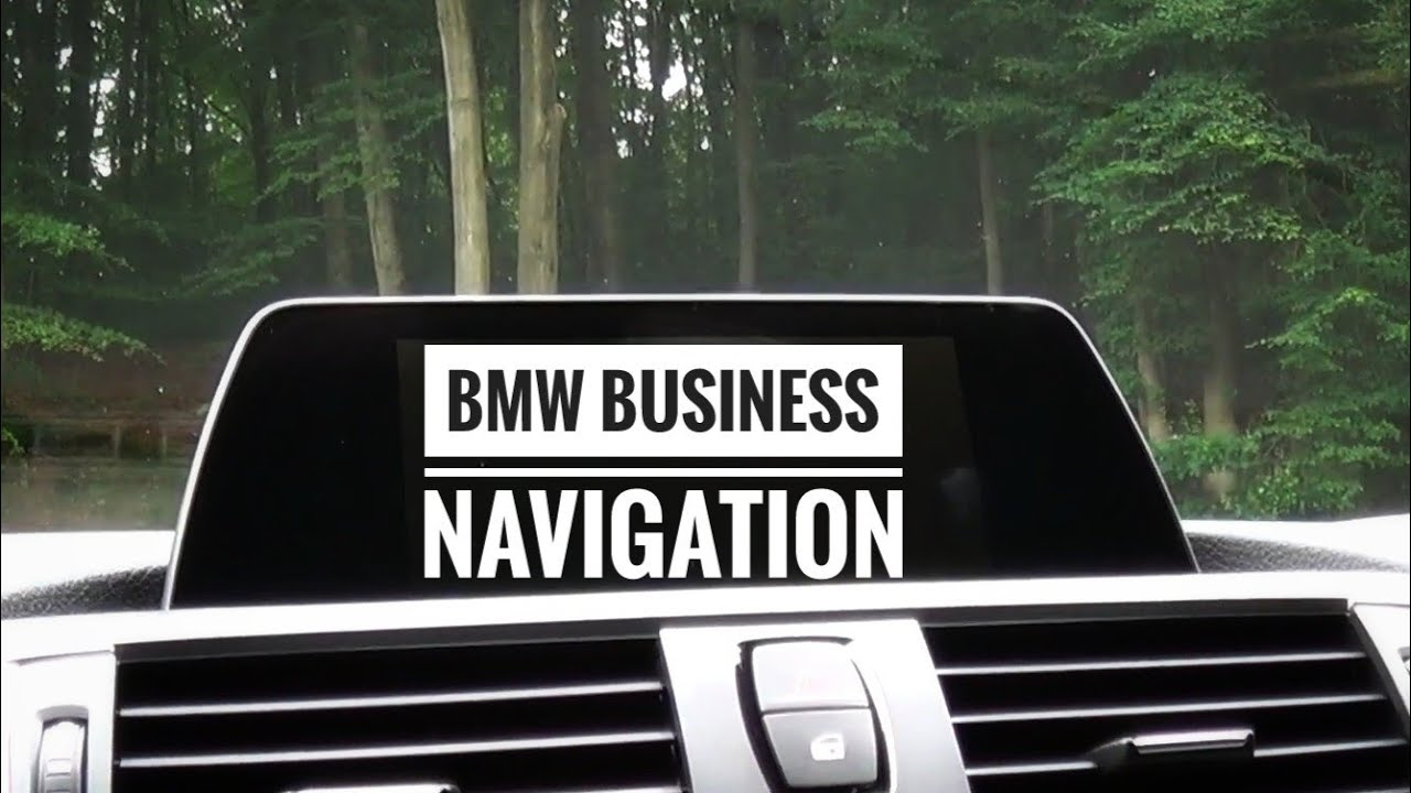 Bmw business navigations infotainmentsystem im test