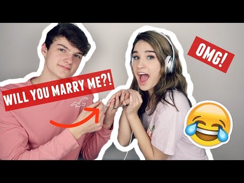 WHISPER CHALLENGE TURNS INTO PROPOSAL?! LOL