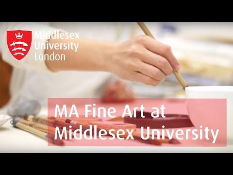 MA Fine Art at Middlesex University