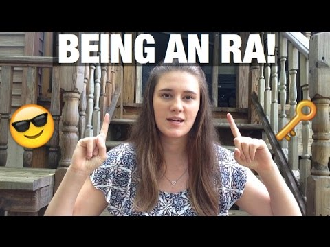 Being an RA in college!