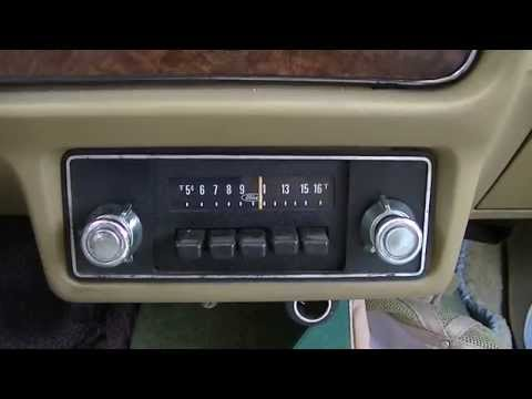 Repairing Vintage AM Car RadIo In 1980 Ford Fairmont E0SF188