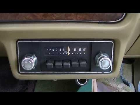 Repairing Vintage AM Car RadIo In 1980 Ford Fairmont